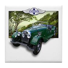 British Racing Green Morgan Tile Coaster