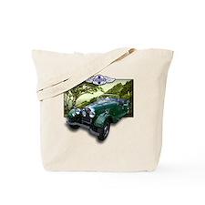 British Racing Green Morgan Tote Bag
