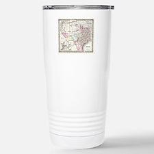 Vintage Map of Texas (1 Travel Mug