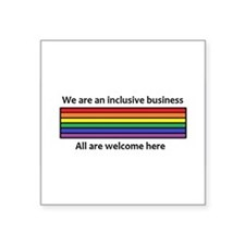 Inclusive Business Logo Sticker