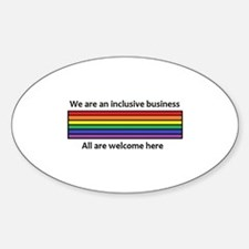 Inclusive Business Logo Decal