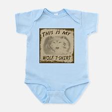 My Wolf T-Shirt Infant Bodysuit