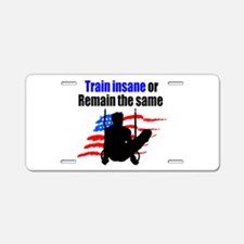 FIERCE GYMNAST Aluminum License Plate