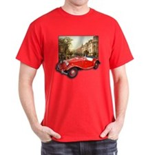 Red MG TD Roadster T-Shirt