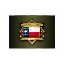 1st Texas Infantry 5'x7'Area Rug