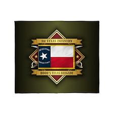 1st Texas Infantry Throw Blanket