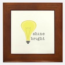Shine Bright Framed Tile