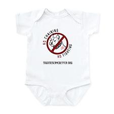 No Chains No Fights Infant Bodysuit
