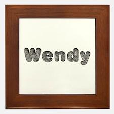 Wendy Wolf Framed Tile
