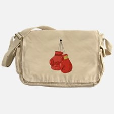 Boxing Gloves Messenger Bag