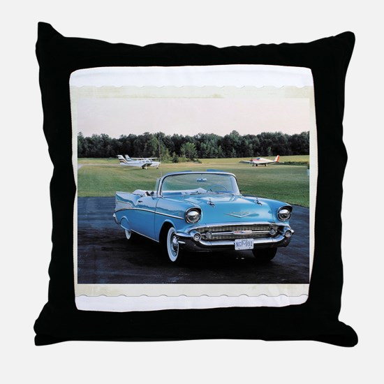 57 Chevy Throw Pillow