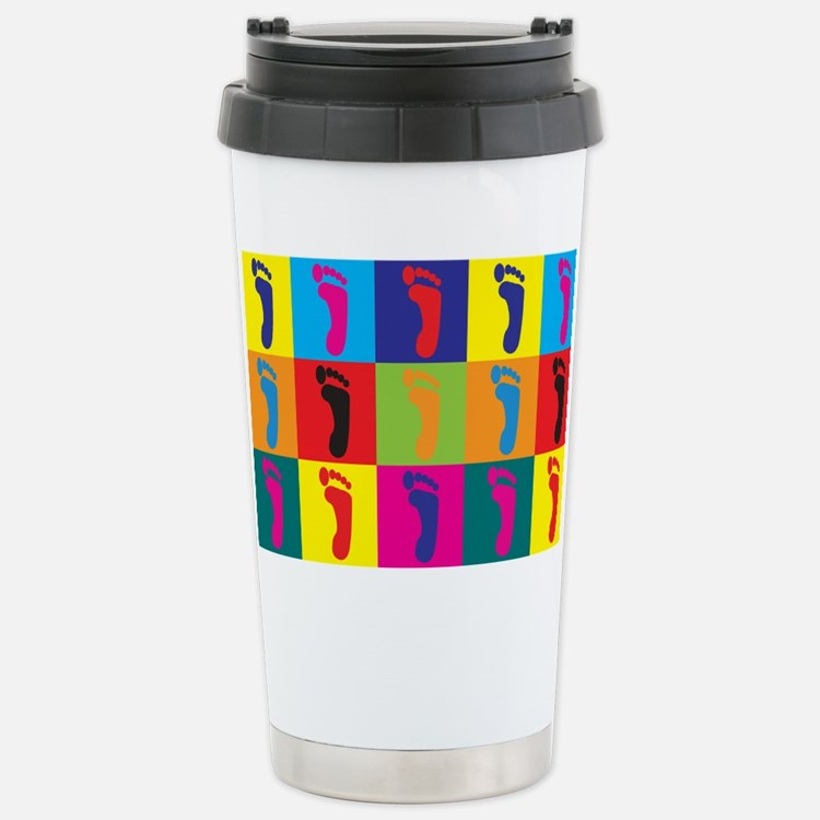 Cute Geek print Travel Mug