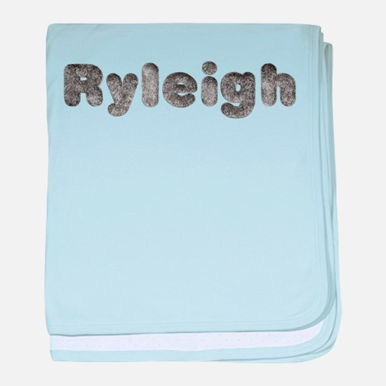 Ryleigh Wolf baby blanket