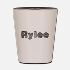 Rylee Wolf Shot Glass
