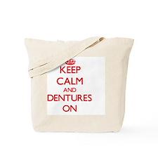 Dentures Tote Bag
