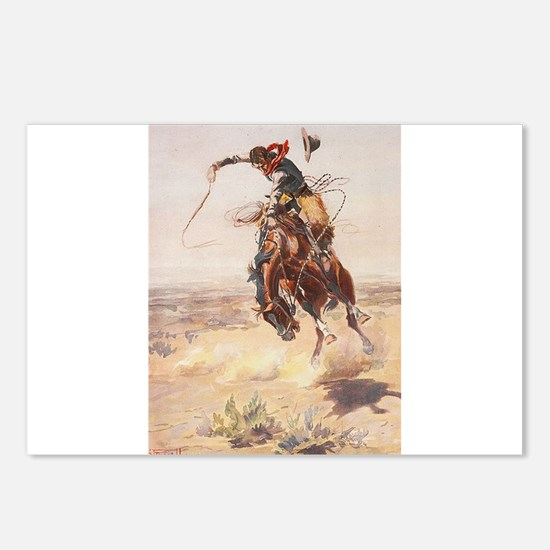 Cute Wild west Postcards (Package of 8)