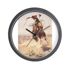 Unique Cowboy Wall Clock