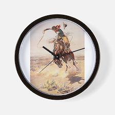 Funny Cowboy Wall Clock
