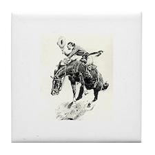Cute Cowgirls Tile Coaster