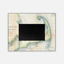 Vintage Map of Cape Cod (1857) Picture Frame