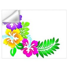 Tropical Hibiscus Wall Decal