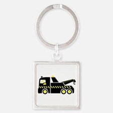 Tow Truck Keychains