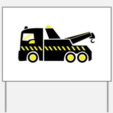 Tow Truck Yard Sign