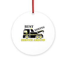 Best Towing Service Around Ornament (Round)