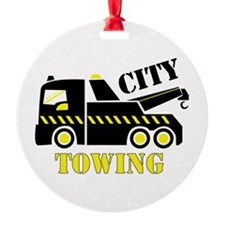 City Towing Ornament