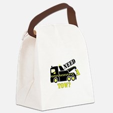 Need A Tow? Canvas Lunch Bag