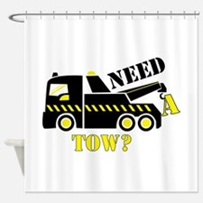 Need A Tow? Shower Curtain