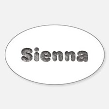 Sienna Wolf Oval Decal