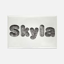 Skyla Wolf Rectangle Magnet