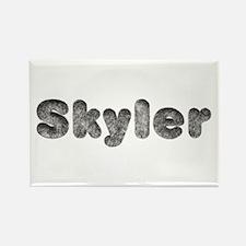 Skyler Wolf Rectangle Magnet