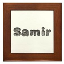 Samir Wolf Framed Tile