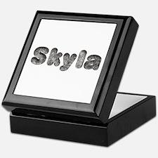 Skyla Wolf Keepsake Box