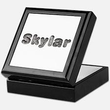 Skylar Wolf Keepsake Box