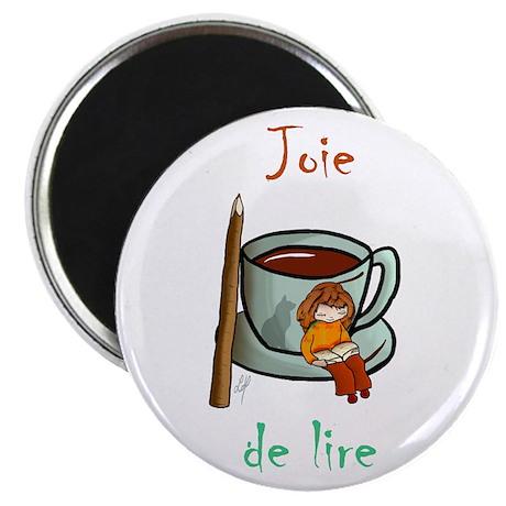 """""""Joie de Lire (2)"""" Magnet"""