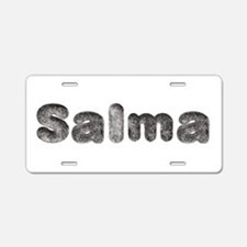 Salma Wolf Aluminum License Plate