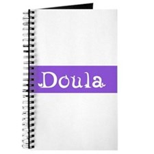 Doula Periwinkle /White Journal