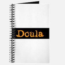 Doula Black/Orange Journal