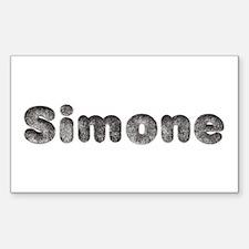 Simone Wolf Rectangle Decal