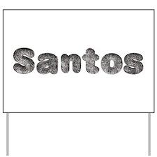 Santos Wolf Yard Sign