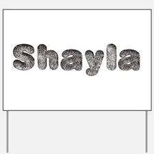 Shayla Wolf Yard Sign
