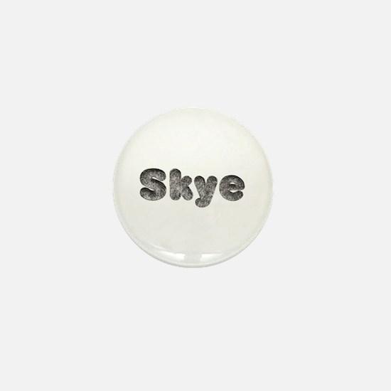 Skye Wolf Mini Button