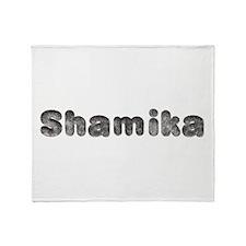 Shamika Wolf Throw Blanket
