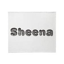 Sheena Wolf Throw Blanket