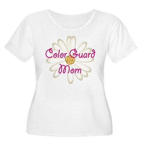 Color Guard Mom Women's Plus Size Scoop Neck T-Shi