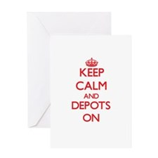 Depots Greeting Cards