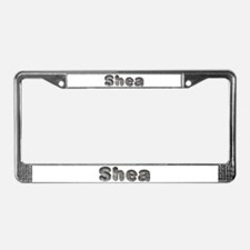 Shea Wolf License Plate Frame
